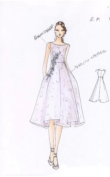 梅赛德斯-奔驰国际时装周倒计时 2015春夏设计手稿抢先看