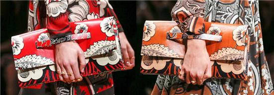 手绘涂鸦风横行 艺术感包包画出来-配饰/单品服装设计图片
