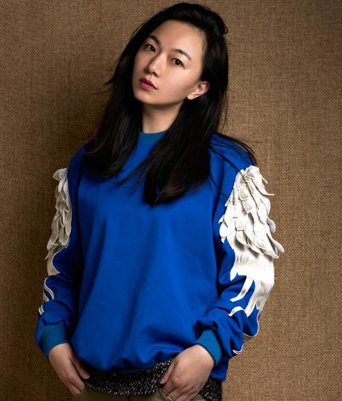 """吉承:从事服装设计十多年,我的作品从没离开过中国元素,""""鹤影"""