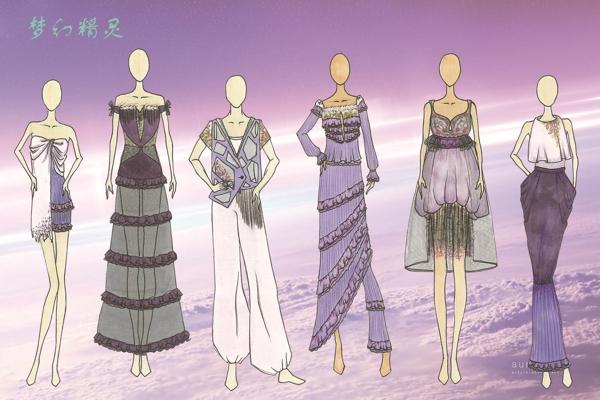 第三届雪仙丽中国家居服文化创意设计大赛 入围选手效果图