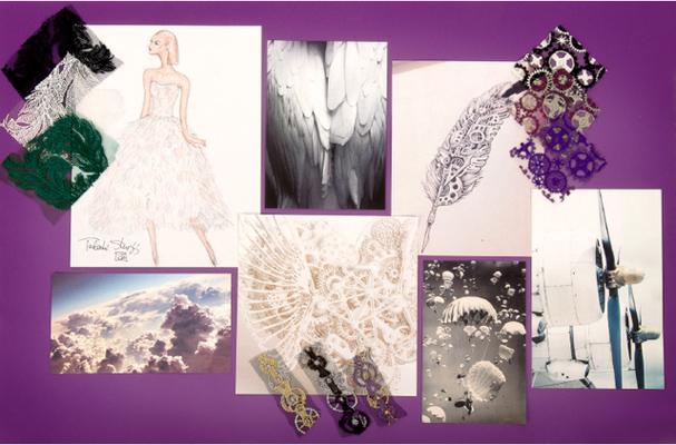 cfw服装设计网 资讯 设计管理 > tadashi shoji秋冬系列灵感之源:纵享图片