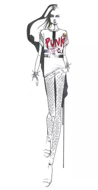 時裝大師的絕妙服裝手稿圖-服裝設計管理-服裝設計網