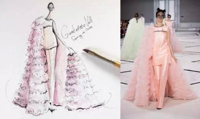 手绘2015春夏高定-时装画/手绘技巧-服装设计