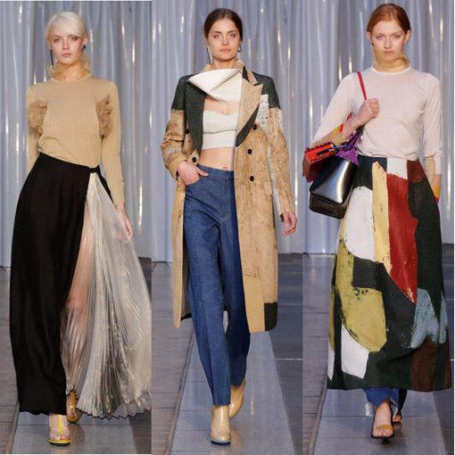 十九世纪70年代末日本时尚开始流行,二十世纪80年代崛起的三大巨头:三宅一生、川久保玲和山本耀司至今还在引领潮流,近数十年间,又一波新的日本设计师进军国际时装界。   根据英国《每日电讯报》报道,尽管不复当年的风光,但国际时尚界依旧重视日本,特别是东京-被称为非官方的国际第五时尚之都,新一代的日本设计师依旧能够引领风潮。  渡边淳弥(Junya Watanabe)   专家表示,在过去的几个季度中,可以感觉到时尚正在向日本风格回潮不再贴身,更加的宽松,比例更协调,造型和穿戴方式更有趣,并考虑到穿衣服