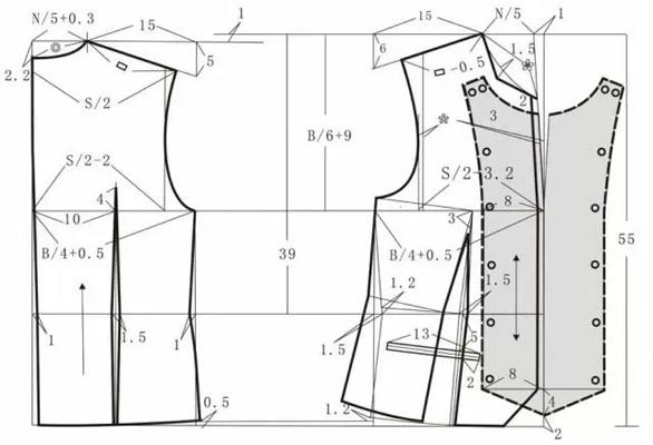 裤子裁剪步骤图画法