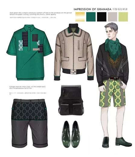 cfw服装设计网 资讯 趋势预测 > 企划方案| 2016ss 印象格拉纳达