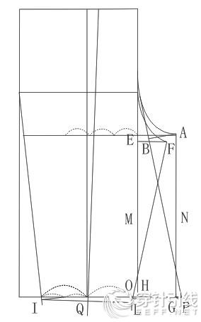 """全新裤子制版法—""""o""""式服装纸样设计系列教程"""
