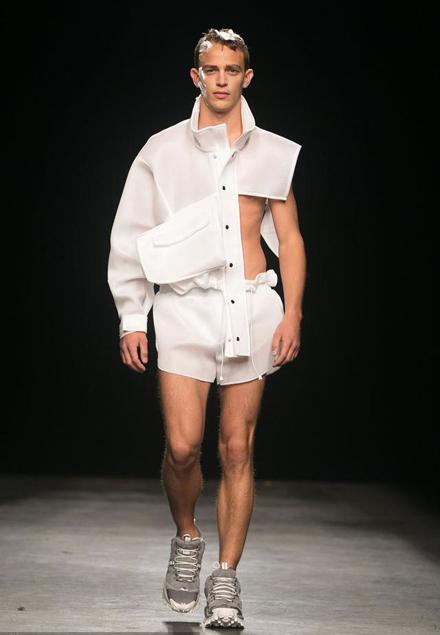伦敦男装周 哪些奇葩设计你最想吐槽-服装时装周-服装图片
