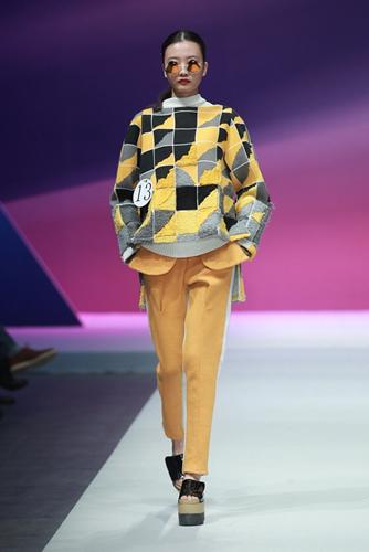 """第6届""""威丝曼""""2014中国针织时装设计大赛举办"""