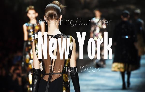 超强剧透2016春夏纽约时装周全是惊喜