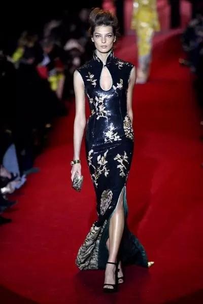 新中式 · 旗袍-设计管理服装设计大赛图片