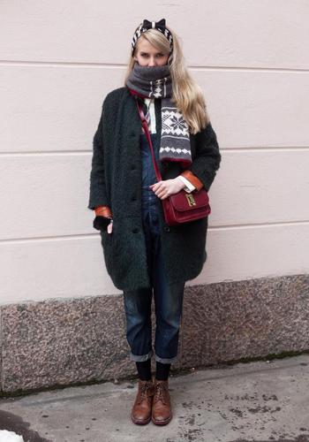 冬天怎么穿背带裤?-潮流搭配服装设计大赛