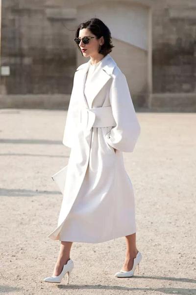 看好了菇凉,2月白色就应该这样穿!!!