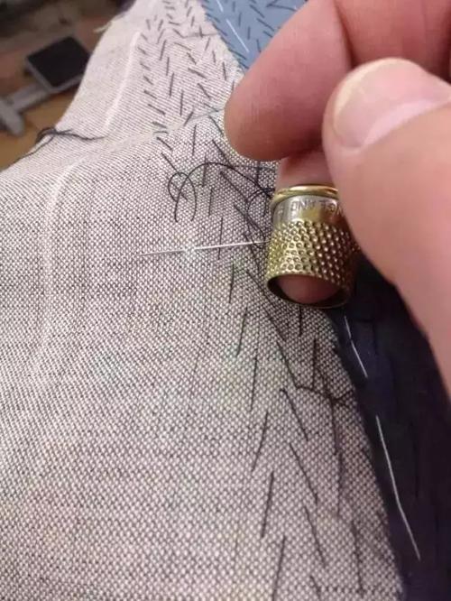 -全里·半里-全毛·半毛-手工-各种高定西服工艺解析
