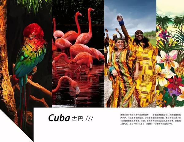 2017春夏女装色彩趋势-Cuba