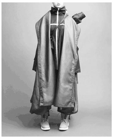 服装设计斗篷手绘