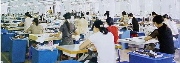 服装生产 矢量图