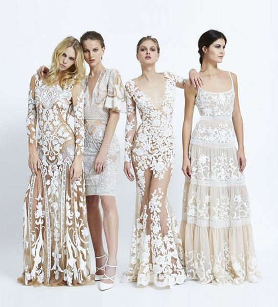 服装设计网 资讯 品牌新品 > zuhair murad 2015春夏系列波西米亚风格