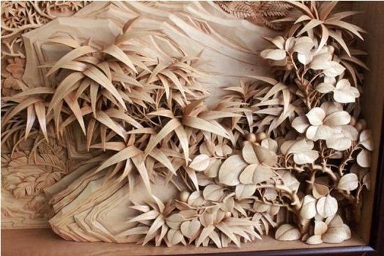 清代木雕工艺技术达到了高峰,许多地方形成了特色的民间木雕