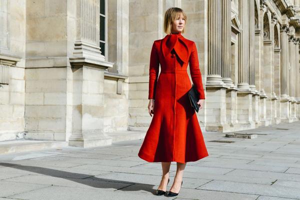 2015秋冬巴黎时装秀街拍-服装设计新闻-资讯-服装设计