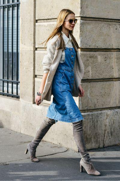 2015秋冬巴黎时装秀 街拍亮相-服装潮流搭配-服装
