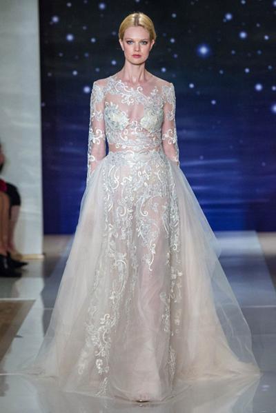夏系列婚纱秀-服装t台秀场- 服装设计 146x220-服装设计t台秀图片图图片