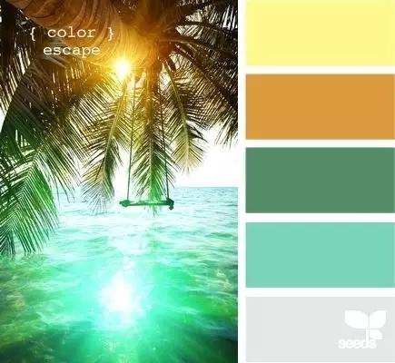 色彩|最经典的配色120例,设计师超实用收藏-服装流行