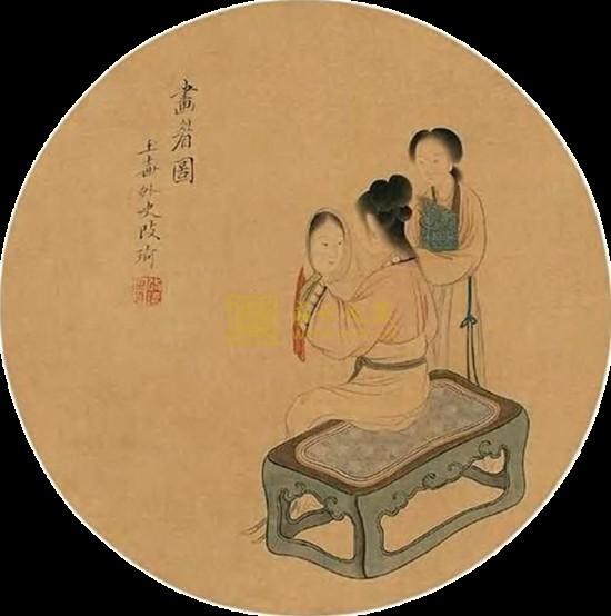 是一种圆形有柄的扇子.团扇起源于中国.