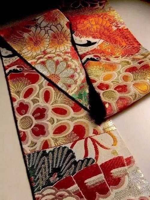 和服图案之美 -- 腰带-服装设计管理-服装设计网