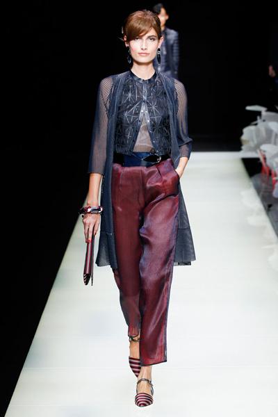 giorgio armani 2016春夏流行发布-服装设计新闻-资讯