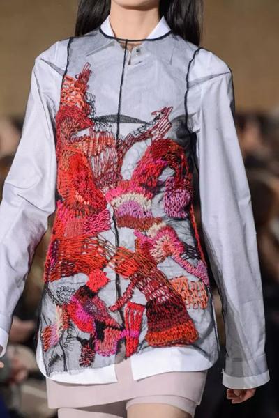 企领旗袍结构图
