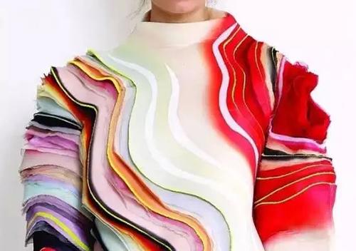 编围巾步骤制作图