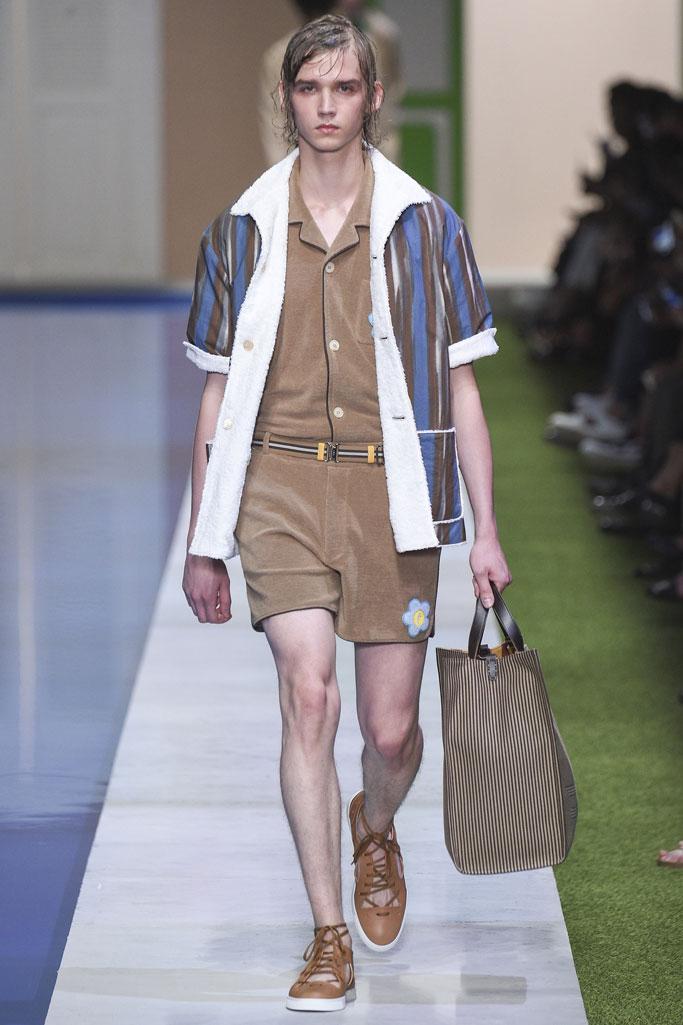 米兰2017春夏系列男装秀-服装时装周-服装设计