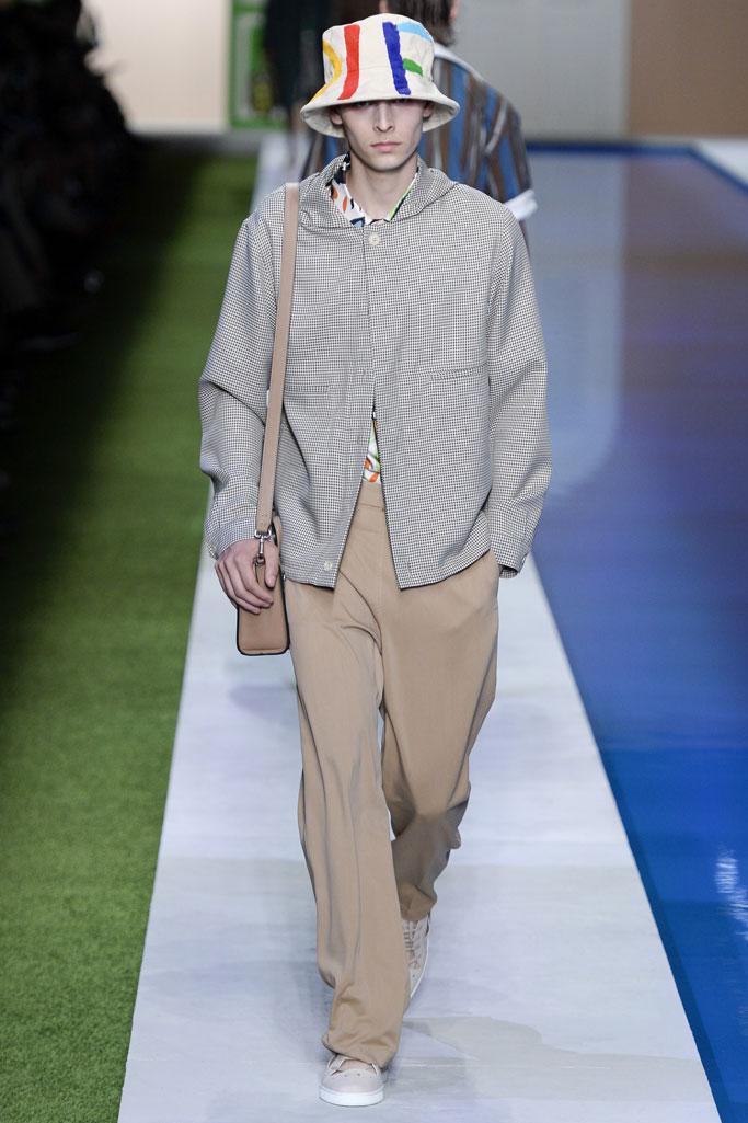 fendi 米兰2017春夏系列男装秀-服装时装周-服装设计网