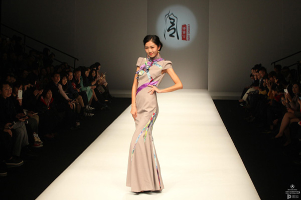 中国国际时装周旗袍展 图片合集图片