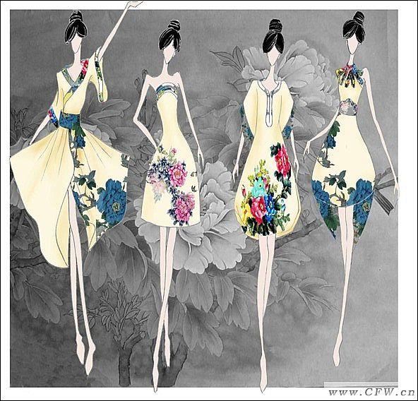 动手网 -> 图片,手稿,服装设计,时尚,手绘