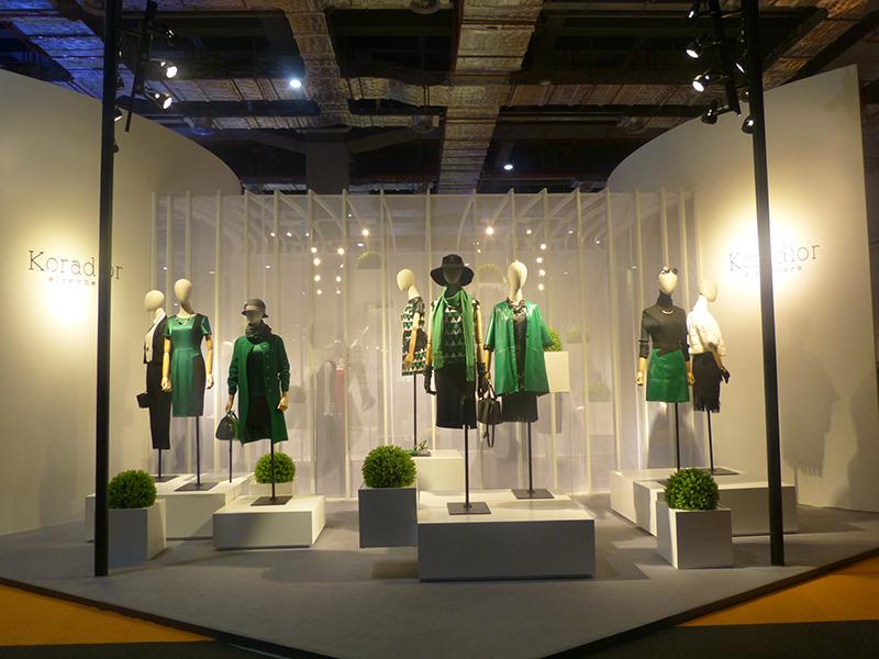 陈列设计-第23届中国国际服装服饰博览会(chic 2015)