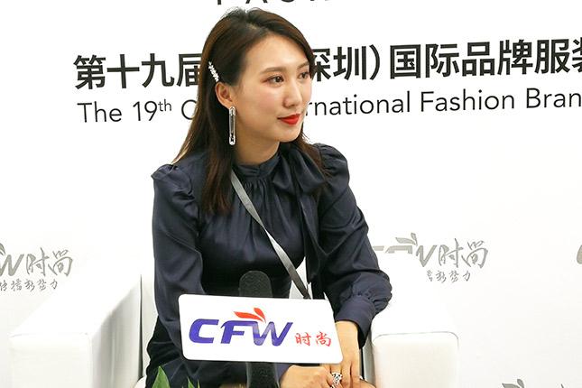 时尚深圳展|专访晓创服饰创始人黄晓怡