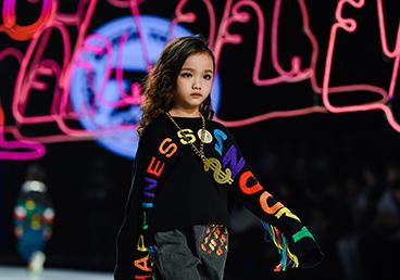 2020广东时装周秀尚|悦蒂威童装供应链史努比童装品牌发布