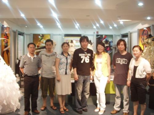 韩国服装设计师协会会长一行来服装学院访问