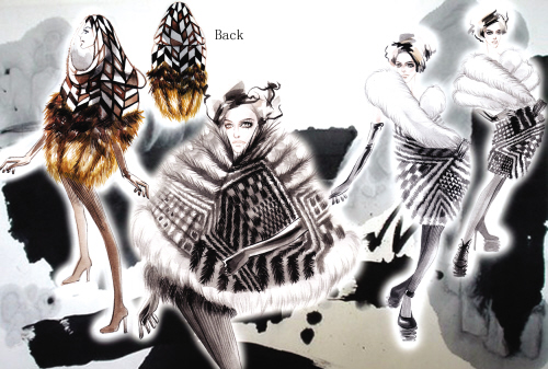 第6届中国国际青年裘皮服装设计大赛20位选手入围决赛