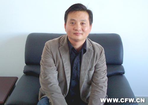 访谈嘉兴华亚织造有限责任公司 总经理沈卫平