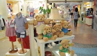 婴童市场商场儿童区商场儿童区效果图小猪班纳装修