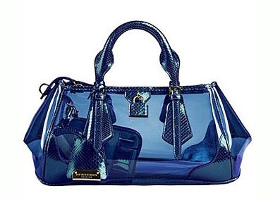 burberry蓝色包包