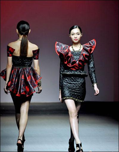大学生优秀服装设计大赛总决赛在广州举行