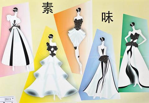 """2013""""大连杯""""青年服装设计师大赛入围作品公示"""