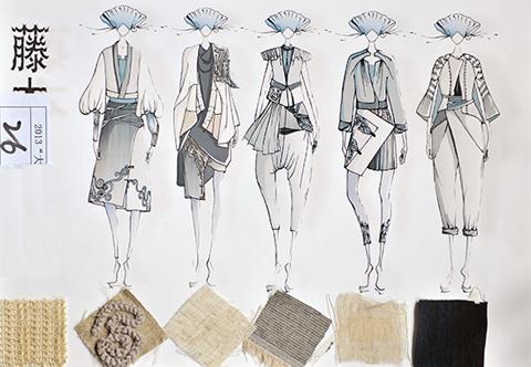 """2013""""大连杯""""青年服装设计师大赛入围作品公示图片"""