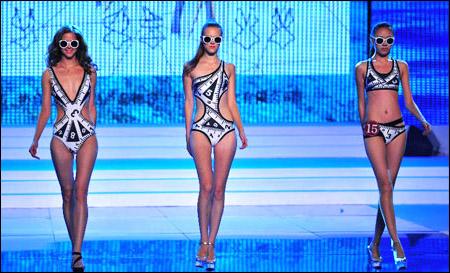 """2013""""葫芦岛银行""""杯中国泳装设计大赛举行"""