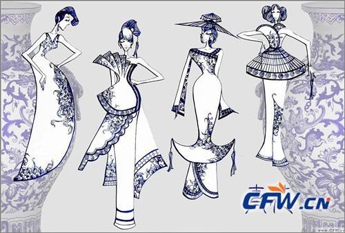 服装设计比赛作品_第八届中国大朗毛织服装设计大赛得奖作品效