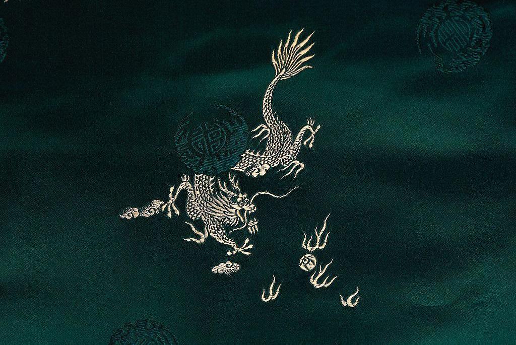 中国传统服饰纹样图片